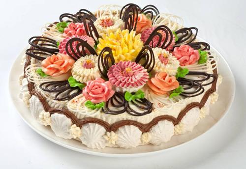 Украшения тортов на день рождения фото